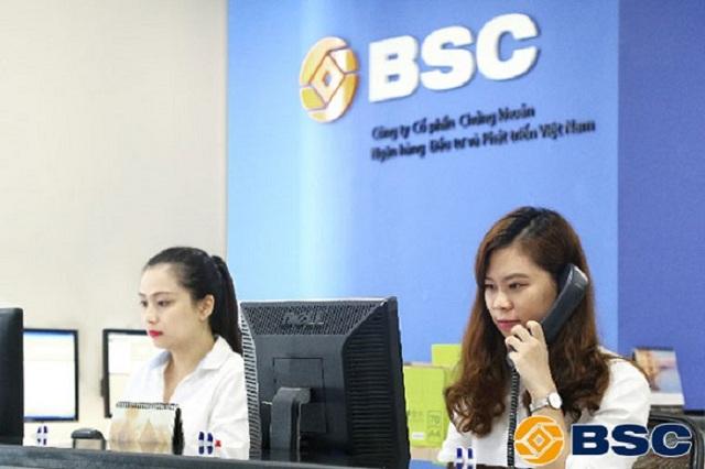 BSC hỗ trợ mở tài khoản chứng khoán tại hai địa chỉ Hà Nội và TP Hồ Chí Minh