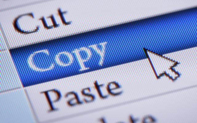 Thực hiện việc copy dữ liệu