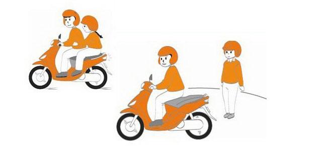 Cách vẽ xe máy có người ngồi đơn giản- Vẽ người ngồi trên xe máy có khó không?