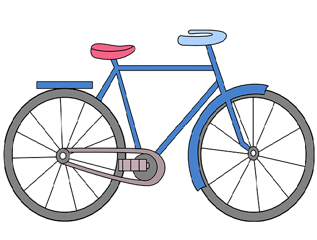 Tô màu cho xe đạp