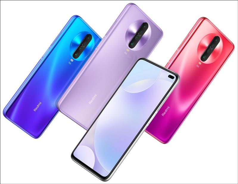 Xiaomi Redmi K30 5G có thiết kế hiện đại màu sắc sang trọng