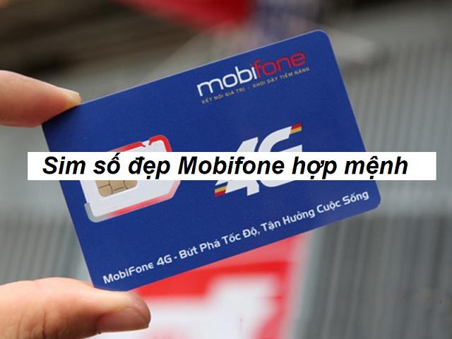 Lựa chọn sim mobifone hợp mệnh
