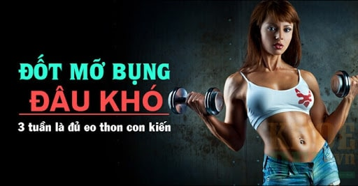 Sử dụng các thiết bị tập gym giảm mỡ bụng đem lại cho bạn vòng eo lý tưởng