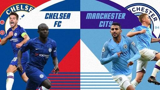 Chung kết giữa Chelsea vs Man City