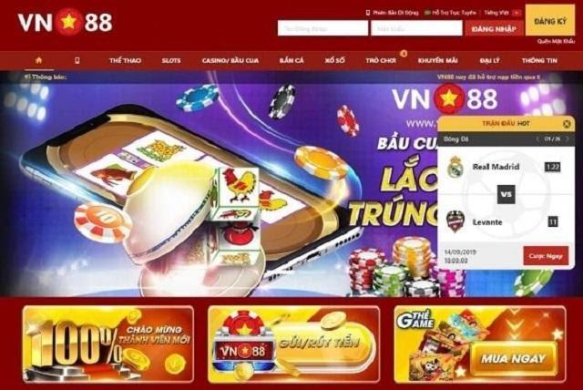 Review kho game nhà cái VN88.com